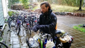 Bike diving