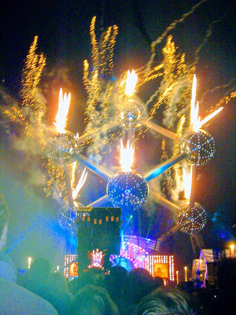 FireWorks Atomium - Brussels