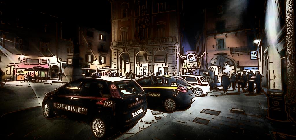 Italian variuos Policecars